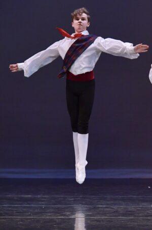 Elliott Daggett.Ballet Dancer